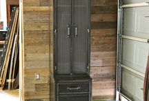 Industrial Armoire Lockers Wardrobe Closets