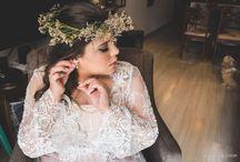 Noiva | Penteado Flores / Folhagem