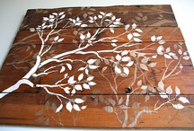 wood / by Tattered Elegance