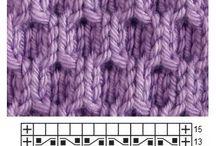 узоры вязание спицами