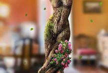 ağaç insan