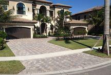 Concrete Brick Pavers