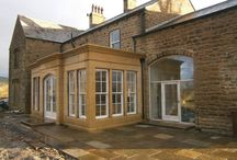 Orangeries / Here at Steptoe's Yard Ltd we can offer a bespoke stone masonry service to produce the Orangery of your dreams; hand crafted from locally quarried stone to a design, layout, and size to suit your exact requirements.