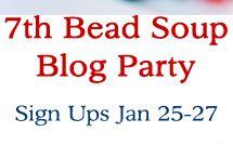 7th Bead Soup Blog Party (participants only) / This is a board to showcase the bead soup and the finished jewelry designs of the 7th Bead Soup Blog Party.  Please only pin items to this board if you are participant.  Judges:  Beaducation, Fusion Beads, Kalmbach Publishing, Lima Beads, Nina Designs, and PJ Tool & Design.  Thank you for your time and generosity!