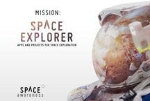 world space week / school work