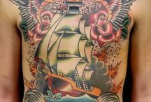 Boat Tattoo / http://www.tattoosideas.co.uk/boats-pictures.html