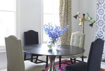 Charming Dining Rooms / Shapes, sizes, colours and elements to spur your creativity and inspire new concepts