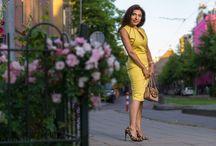 Yellow Dress Luna