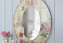 Decoupaje: Espejos / Mirrors