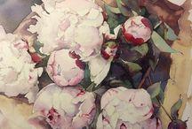 цветы.живопись