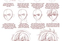 Learn anime hairstyles