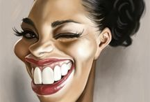 caricatures / by Donna Wynn