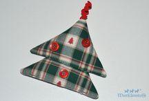 Weihnachtskleinigkeiten aus Stoff