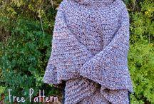 Идеи для мехового вязания