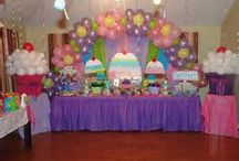 Kid's Party: Cupcake / Party planning inspiration for a cupcake themed party including, décor, favors, games and food ideas.