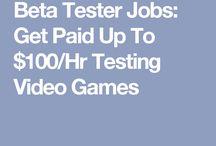 Online work opportunities