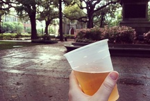 """Put it in your """"to go"""" cup! / Quote from Midnight in the Garden of Good and Evil ~ """"Joe's rule number two: If you have to leave a party, you always take a traveler."""" In Savannah, you can take your cocktail to go, so long as it's in a plastic cup! Enjoy these libations, cheers!"""