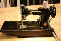 sewing machines / by Willemke Vidinic