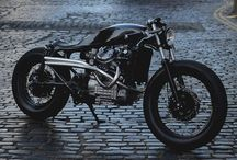 cafe racers and beautiful designs