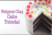 video tutorials: food (cakes) / Video tutorials for making a variety of 1/12th scale cakes