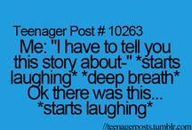 Relatable teen posts