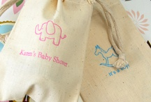 Baby Shower Favor Bags / Creative Ideas For Baby Shower Favor Bags