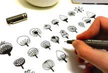 doodle, drawing  & zentangle