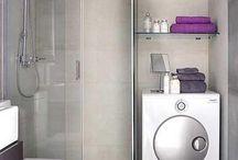 Banheiros com Maq lavar