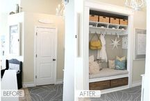 Entryway / by The Little Ladybug Accessories
