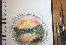 Watercolouriness