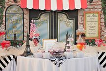 Inspiration: a night in paris wedding