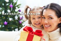 Navidad a la Carta / Todo sobre la Navidad: recetas navideñas, decoración, amigo invisible, o hacer que Papá Noel y los Reyes Magos envíen una carta a los peques #navidad #navidadalacarta