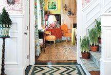 Mixing Patterns / by Laurie - CEO Customized Walls Founder Interior Design Community