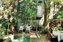 jezírko _ bazén na zahrade