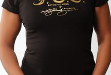 Plus Size - F.O.G. SIGNATURE Christian T-Shirt - Royal Black  / Express that you have God's wonderful favor! This crew neckline Christian T-shirt features the bold F.O.G. logo in gold foil at the front and is a must have for the season. It also features the scripture Isaiah 61:9 on right sleeve which represents God's favor! #FOG Christian T-Shirts # Christian T-Shirts #Christian T-Shirts for Women #Stylish Christian T-Shirts #FOGcollection / by F.O.G. FAVOR OF GOD