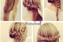 Updos and braids