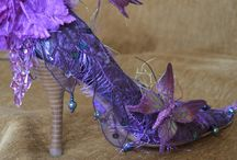 The most beautiful shoes and Gowns / Beautiful  variety of gorgeous  coloured shoes