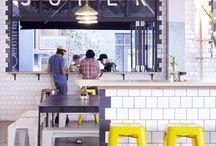 Restaurants + café