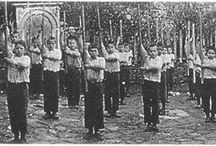 pammachon staff / Tradition of 19th century  Hellenic Martial Education of Pammachon