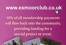 ExmoorClubCard / ExmoorClubCard offers great deals across Exmoor: Enjoy discounted entry to National Trust properties and save money when booking activities or accommodation. Get special deals when you order from a number of eStores and even get a discount on webdesign. Cards cost £25.00 per year - they are available online at www.exmoorclub.co.uk and from a growing number of agents.