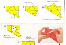 Origami dobozok