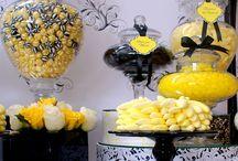 Black, White & Yellow COLOUR THEME