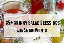 Salads, dressings, sauses