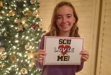 SCU Loves Me / Congratulations to all those accepted into Santa Clara University!  For the latest pics, please visit the Undergraduate Admissions' complete album on Facebook: http://goo.gl/GdxomA