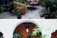 Urban garden / container garden ideas in the city