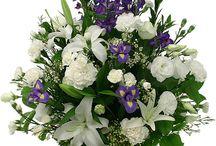 Fleurs de funéraires