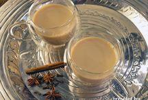 Turmixok, teák, ivólevek, kokétok, kávék