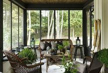HOUSE: Porches and Sunrooms / Your porch should be an extension of your home, a place to relax, entertain,and enjoy the outdoors.