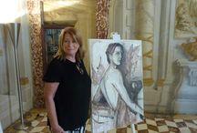 Alchimia / #arte #mostre #siena #PalazzoSasendoni #FondazioneMps #ElisabettaRogai #palio2015 #vino #divino