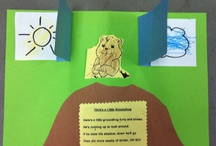 Preschool Theme: Groundhog's Day / by Heather Emily Ruth Chappell